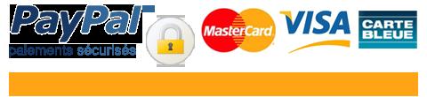 Paiements sécurisés via Paypal